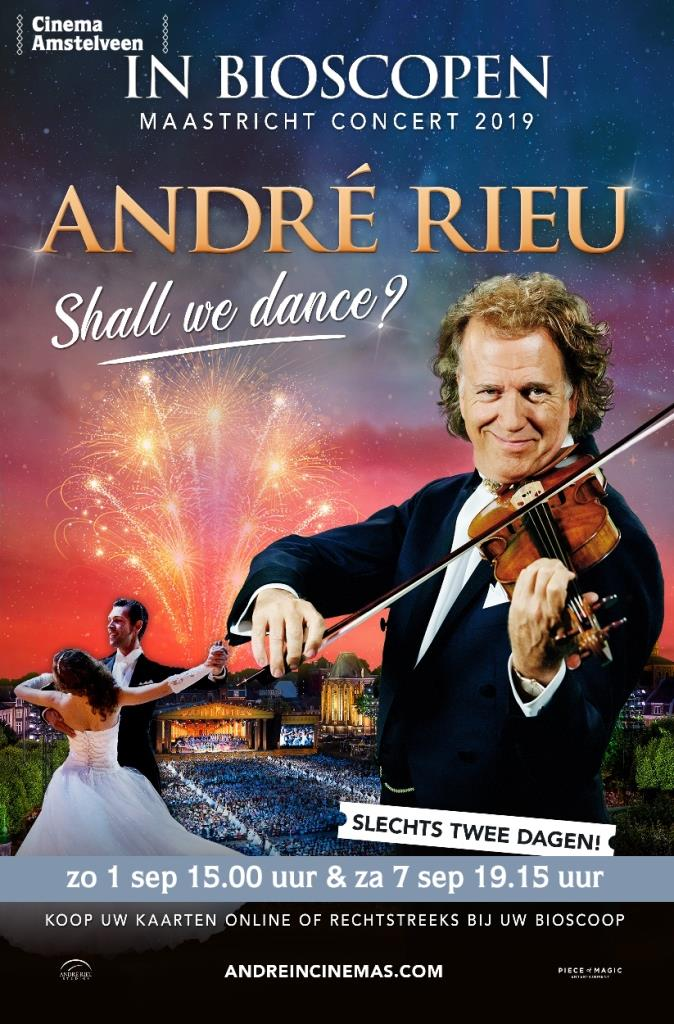 André Rieus 2019 Maastricht Concert Shall We Dance? in