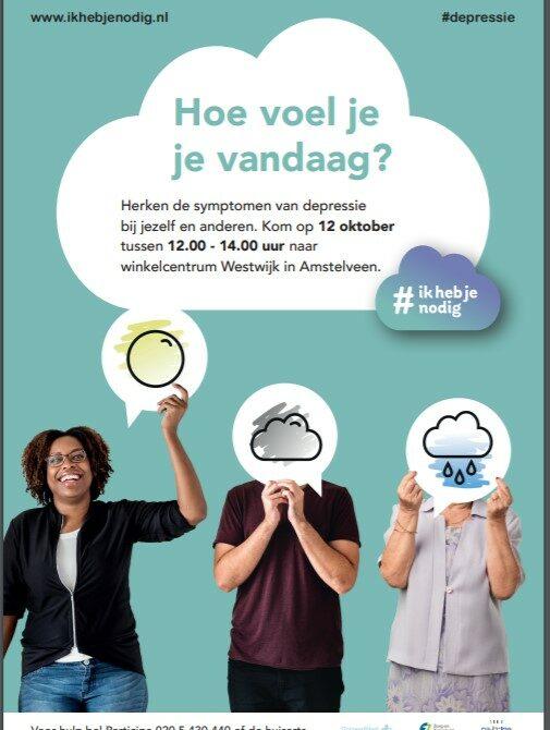Hulpverleners Informeren Over Depressie In Winkelcentrum Westwijk
