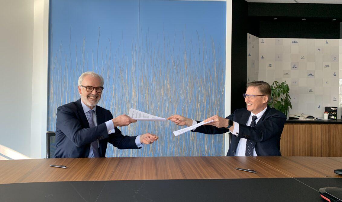 20210305 Willem Offerhaus en Rob Ellermeijer glasvezel